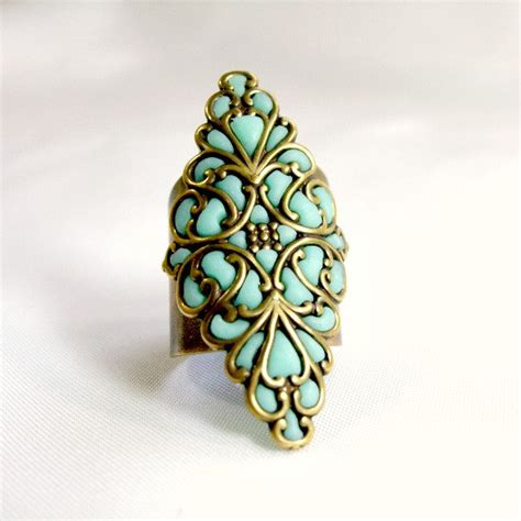 Handmade Brass Jewelry - ring antique brass jewelry handmade by