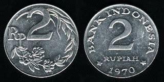 Uang Koin Antik 25 Sen Sentino Tahun 1980 koleksi uang kuno koin koin antik indonesia