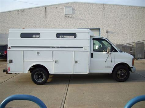 purchase used 2000 chevrolet express 3500 utility van in pittston pennsylvania united states