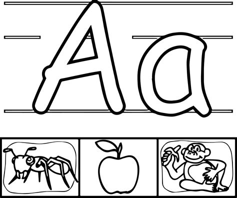 coloring page letter aa aa alphabet coloring pages aa best free coloring pages