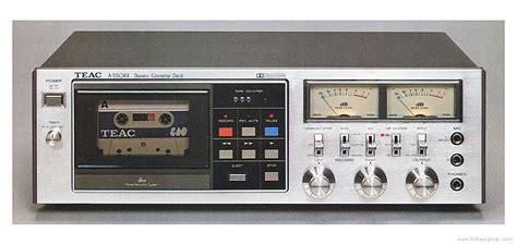 teac cassette deck teac a 550rx manual stereo cassette deck hifi engine