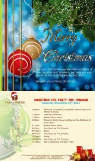 tara angkor hotel a christmas party program