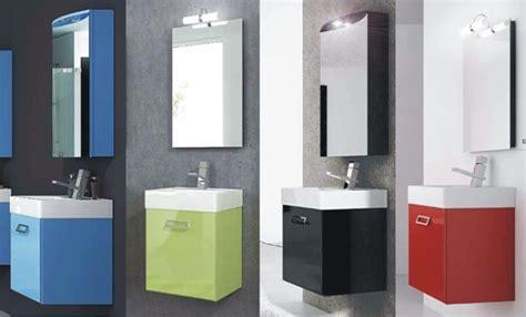 mobile bagno 50 cm arredo bagno mobile da 50 cm con lavabo e specchio