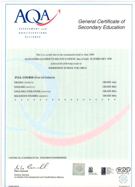 gcse certificate template degree certificate templates pertamini co