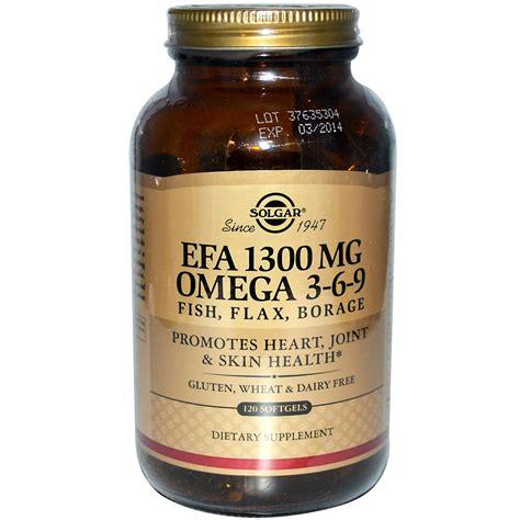 best omega 3 6 9 supplement brand solgar efa omega 3 6 9 1300 mg 120 softgels iherb
