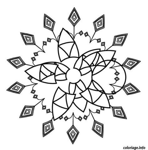 Coloriage Mandala Facile Dessin