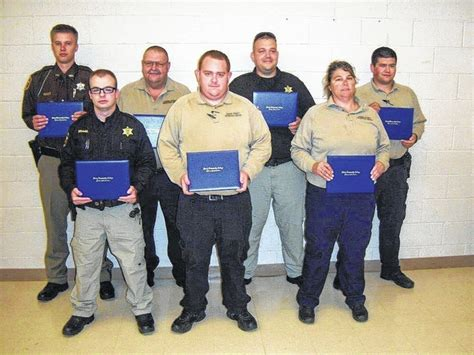 Yadkin County Sheriff S Office by Seven Receive Detention Officer Certification At Scc The