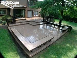 Deck Benches With Backs Building Built In Deck Benches Decks Com
