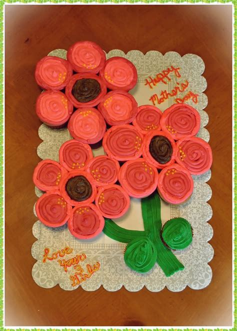 mothers day flower cupcake cake easter flower cupcake cake cupcake cakes cake