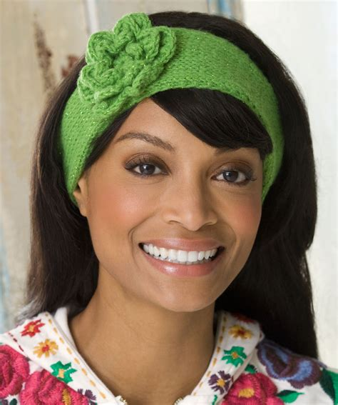 knitting pattern for headbands with flower knitted headband with flower patterns a knitting blog