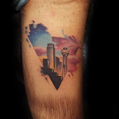 watercolor tattoo dallas 20 dallas skyline designs for ink ideas