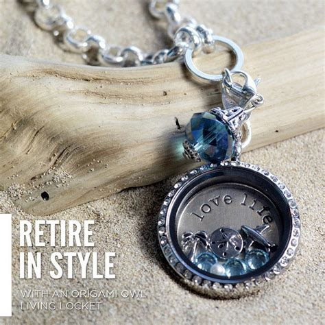 Origami Owl Living Locket - retire in style with an origami owl living locket great
