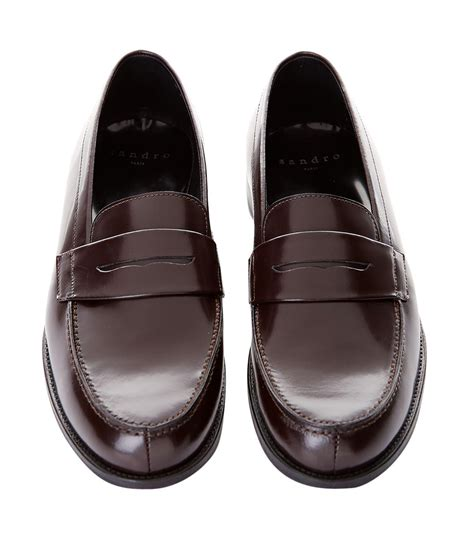 sandro loafers sandro loafers in for lyst