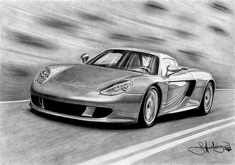 porsche drawing porsche gt drawing drawing by harding