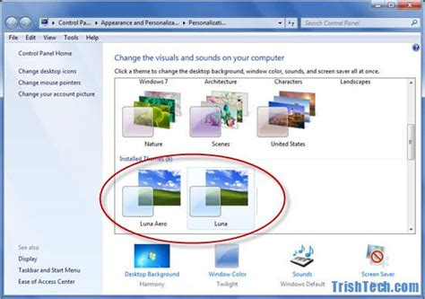 themes for windows 7 installer pour ma famille install windows xp themes on windows 7