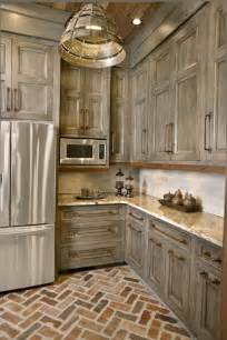 Kitchen Floor Cabinet Best 25 Rustic Kitchen Cabinets Ideas On Pinterest