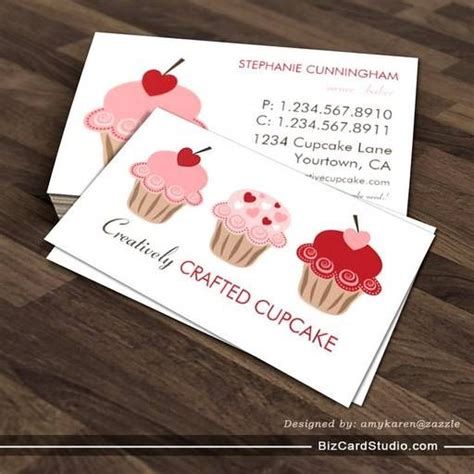cupcake business card template 113 best images about cake business on