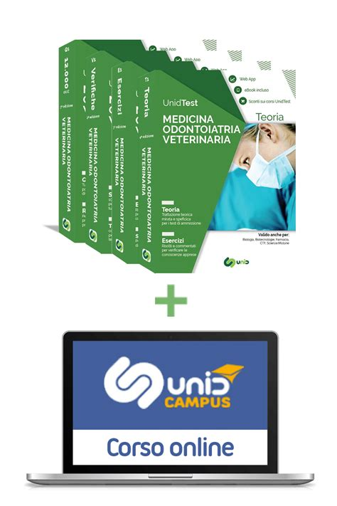 test per medicina libri test di medicina odontoiatria e veterinaria box