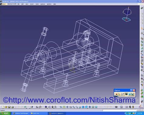 bench vice assembly bench vice assembly in catia v5 by nitish sharma at