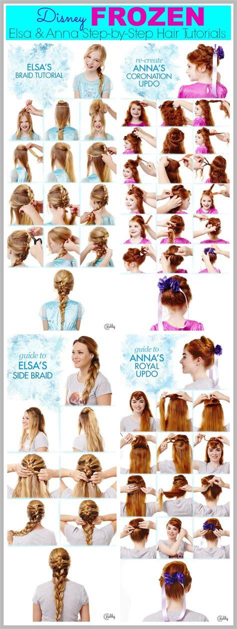 www tutorial frozen hair tutorials elsa and anna hacks