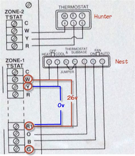 ac house wiring wiring why is my nest thermostat not working with a c home improvement stack exchange