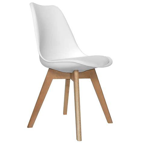 oferta de sillas de comedor silla patas madera blanca 171 sal 243 n comedor moderno