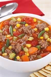 hamburger vegetable soup kitchme
