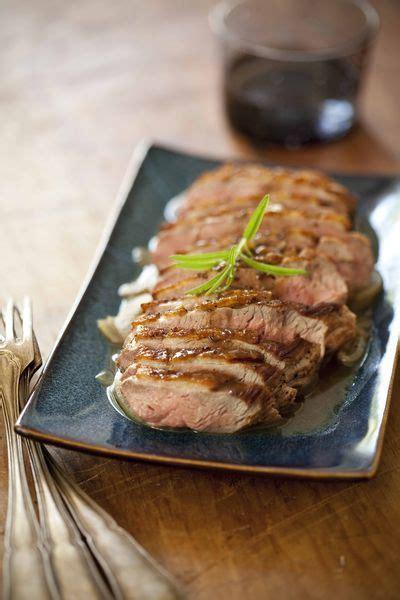comment cuisiner un filet de canard filet de canard au romarin