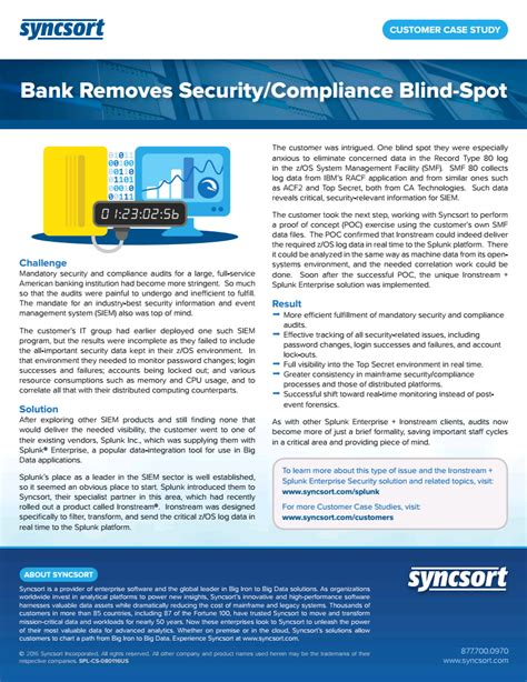 compliance bank bank removes security compliance blind spot