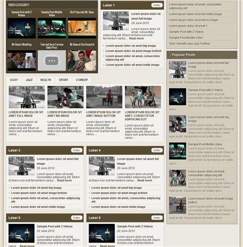templates blogger magazine johny magazine blogger template