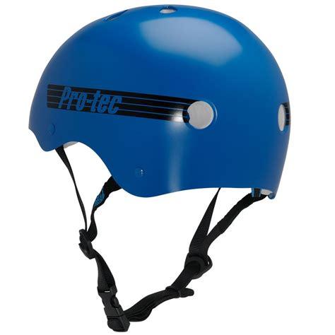 Helm Retro Klasik 3 Zxex protec the classic helmet blue retro