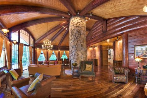 log cabin luxury homes luxury log cabin homes wsj mansion wsj com