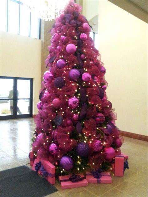 25 best ideas about purple christmas tree on pinterest