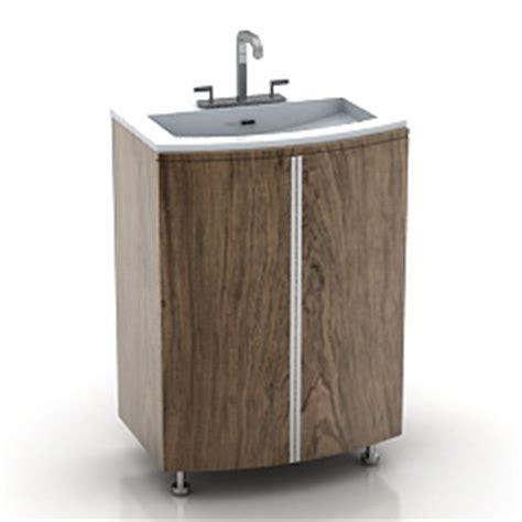Kitchen Wash Basin Models 3d Sanitary Ware Wash Basin N040312 3d Model 3ds