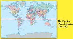 usa map with equator line latitude and longitude