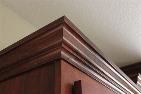 How To Install Crown Molding On Kitchen Cabinets Video cabinet crown molding a do it yourselfers thoughts