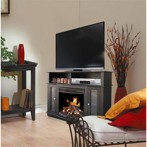 Fireplace Console Entertainment by Tv Stand Entertainment Center Media Console Shelves