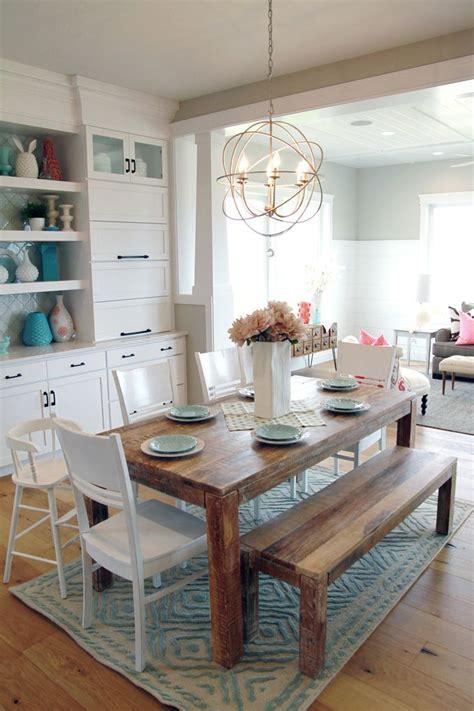Orb chandelier farmhouse table home decoz