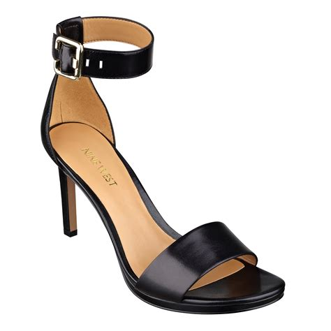 platform sandals nine west meantobe platform sandals in black black