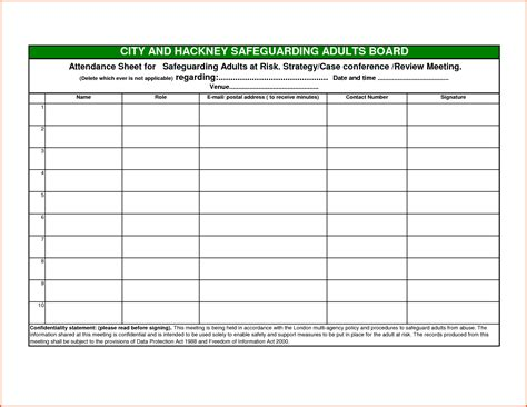 blank attendance sheet template search results for blank attendance sheets calendar 2015