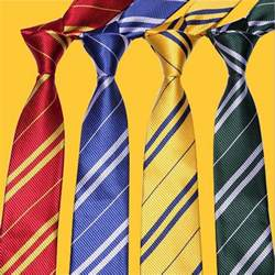 ravenclaw colors unisex necktie harry potter gryffindor slytherin