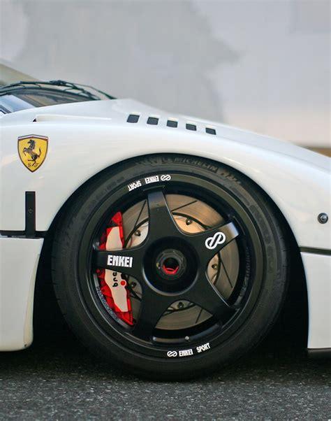 ferrari f40 wheels the powerful mclaren p1 ferrari f40 and ferrari