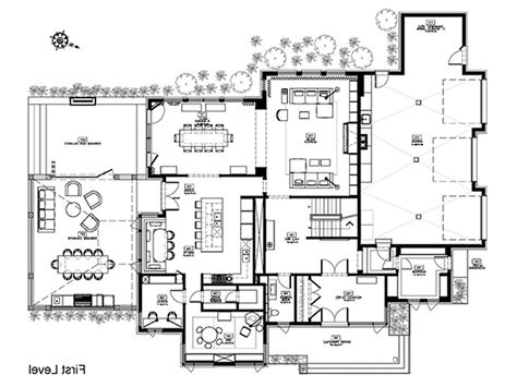 new home designs floor plans modern floor plans for homes modern house
