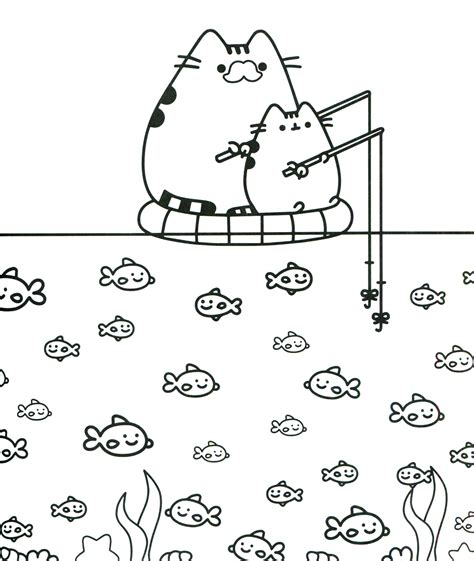 coloring pages pusheen coloring pages best coloring pages for