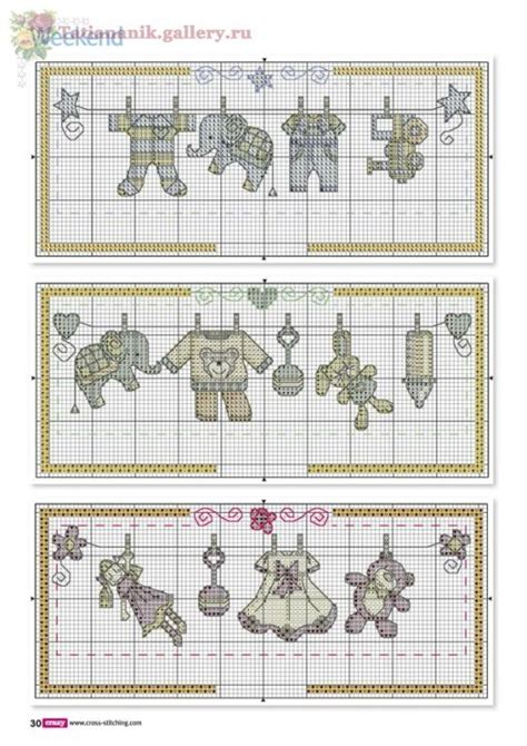 cross stitch pattern clothes line 12 best images about cross stitch for children on