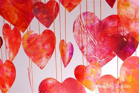 crayon hearts diy home decor ideas for s day diy projects