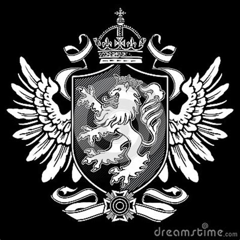 lion crest 2 royalty free stock photo image 24850145