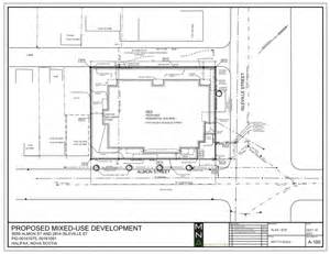 building site plan floor plan of storey commercial building studio