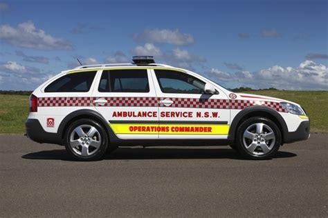 skoda octavia scout  dsg chosen  nsw ambulance service anyauto