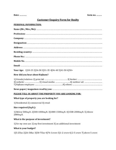 realty enquiry form 1